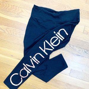 Calvin Klein Rose Gold Performance Leggings